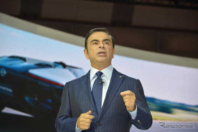 Nissan President Carlos Ghosn (reference image)