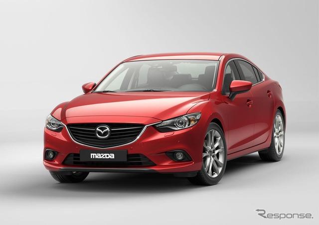 มาสด้า Mazda6 (Atenza อแดง ชื่อญี่ปุ่น)