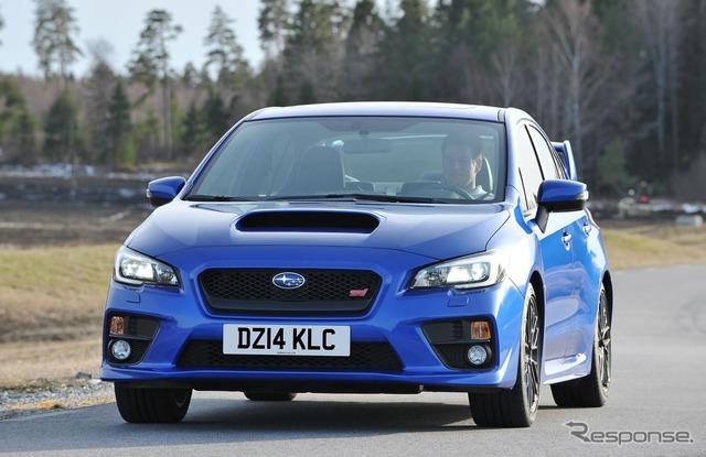 New model Subaru WRX STI
