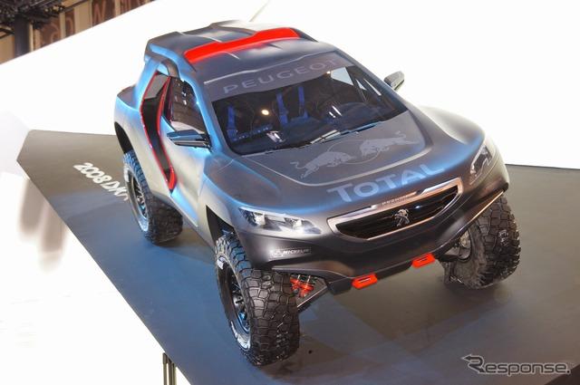 Peugeot 2008 DKR (Beijing Motor Show 14)