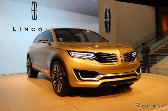 Lincoln MKX concept (Beijing Motor Show 14)