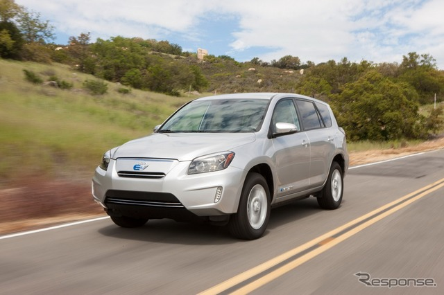 Toyota RAV4 EV commercial model