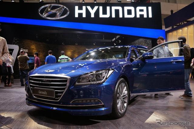 Hyundai Genesis (Beijing Motor Show 14)