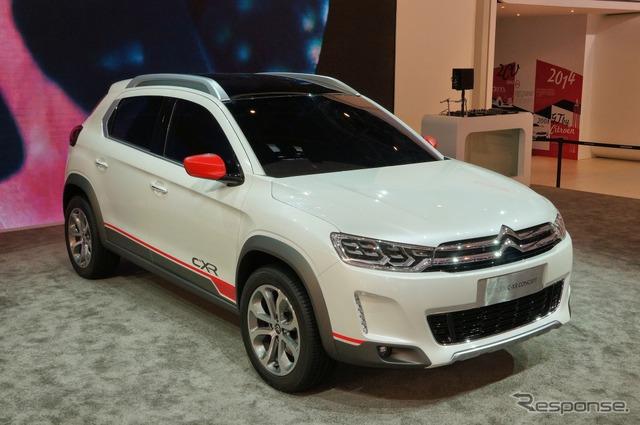 Dongfeng Citroen C-XR concept (Beijing Motor Show 14)