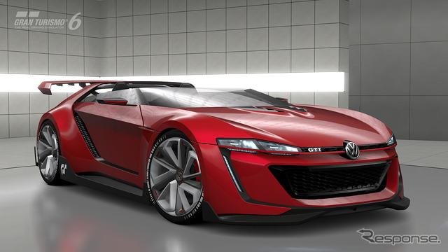 Volkswagen GTI Roadster, vision Gran Turismo