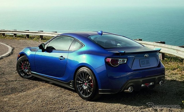 Subaru BRZ Series.Blue (2015 US model)