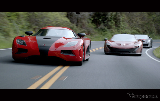 """Film """"need for speed"""" (c) 2014 ll. Dream Works Distribution Co. All Rights Reserved."""