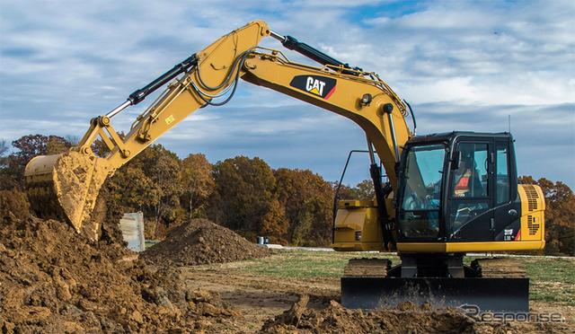 แมว 311F L RR ทั่วไปขนาดเล็กหมุนพิมพ์ excavators ไฮดรอลิก