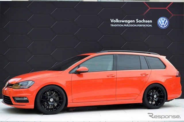 Volkswagen Golf variant and youngster 5000