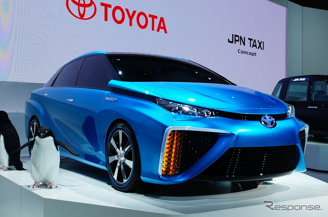 Toyota FCV concept (reference image)
