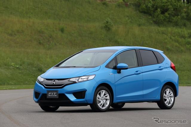 Honda fit HV