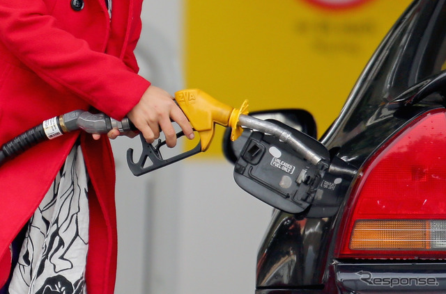 6/9 nationwide average price of regular gasoline at the time rose 0.6 yen from the previous week, and ¥ 166.6 per liter
