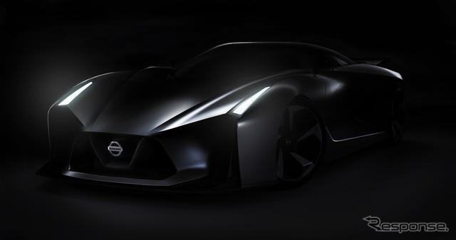 Nissan's concept car, the Vision Gran Turismo