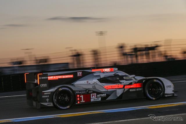 Audi R18 อีตำบล 1 Quattro รถ( Le Mans 24 ชั่วโมงความอดทนการแข่งขัน 2014 )