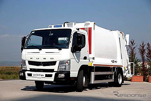 Mitsubishi Fuso's medium-duty truck, the Canter 8.55t