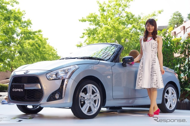 The all-new Daihatsu Copen (Copen Robe)