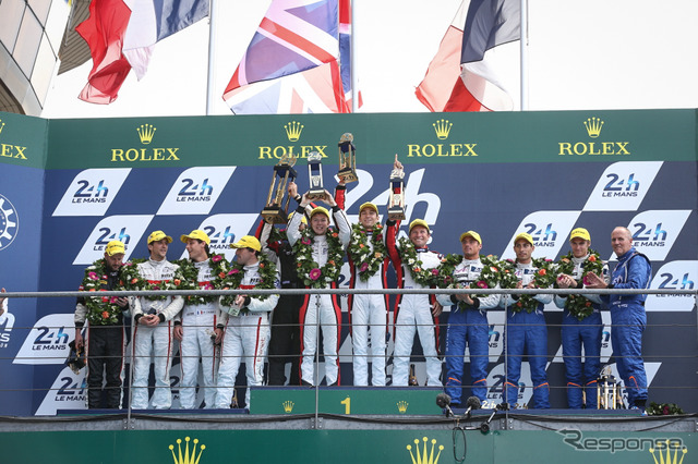 Le Mans 24-hour endurance race 2014