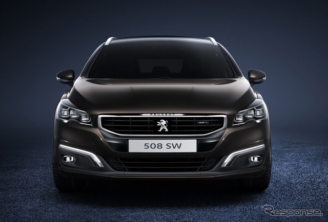 Peugeot 508 significantly improved model (SW)