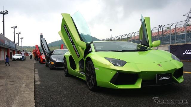 Lamborghini Reventon track day