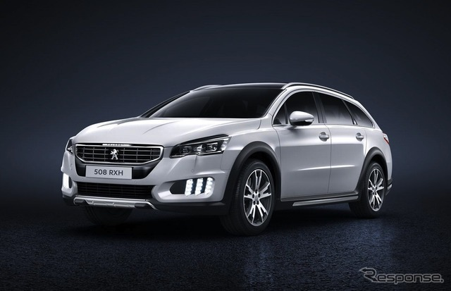Models of the Peugeot 508 RXH