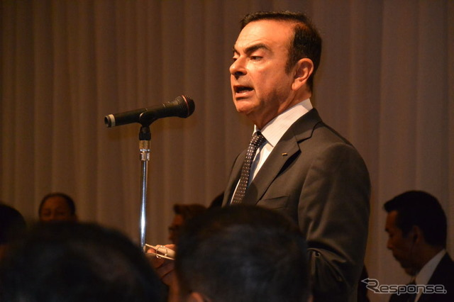 Nissan Motor Co. CEO Carlos Ghosn