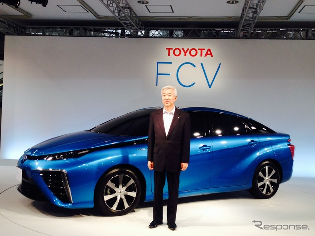 Toyota Motor Corporation Executive Vice President Mitsuhisa Kato (Toyota FCV Sedan Presentation)