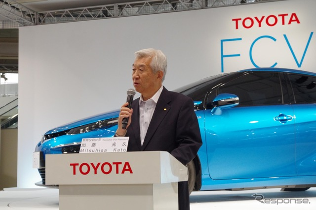 Toyota Motor Corporation Executive Vice President Mitsuhisa Kato