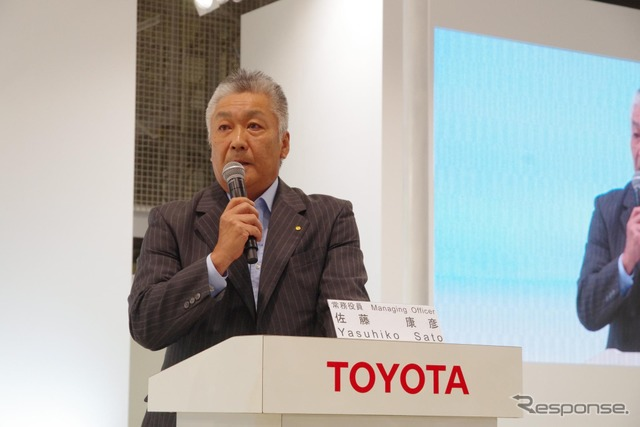 SATO Yasuhiko, managing officer of Toyota Motor Corp.