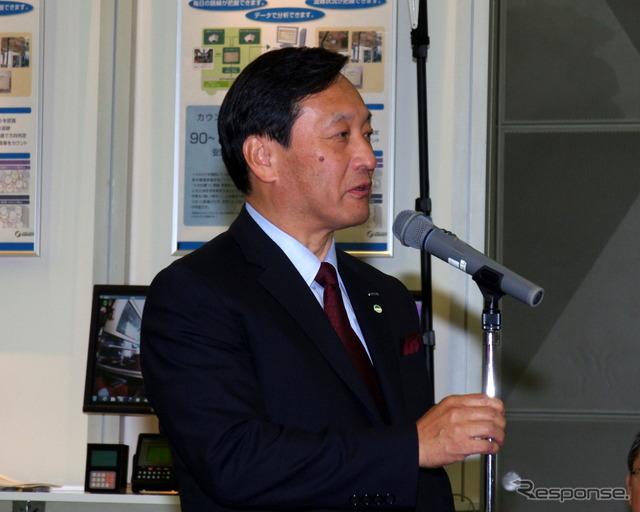 Clarion President & COO Kawamoto h. said