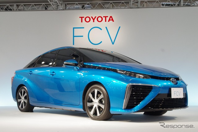 Toyota FCV sedan announcements Tokyo Motor Show concept nearly intact with the photo collection