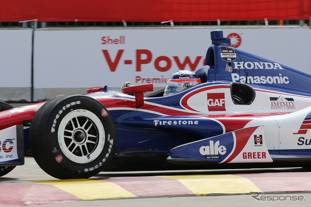 Takuma Sato outperformed the top had a disappointing result in Photo: Honda