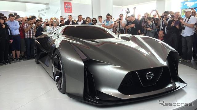 Nissan concept 2020 vision Gran Turismo (Goodwood 14)