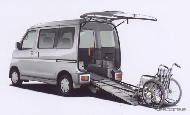 Daihatsu Atrai 4WD sloper