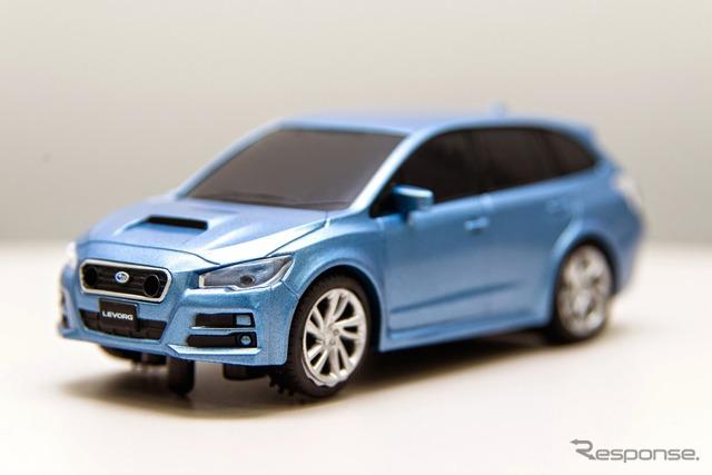 Hitting the Subaru レヴォーグ! Mini car