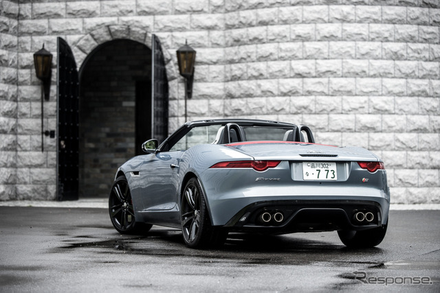 Jaguar-F type V8 S