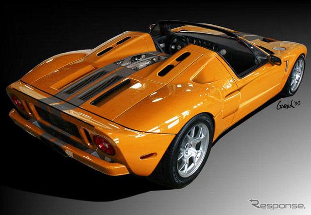 [SEMA05] Ford GTX1, a roadster.