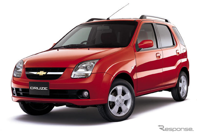 'Chevrolet brand to sell Suzuki Chevrolet cruise'