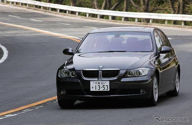 [' Impl; 05] excellent balance between comfort and Matsushita Hiroshi BMW 3 series ran one