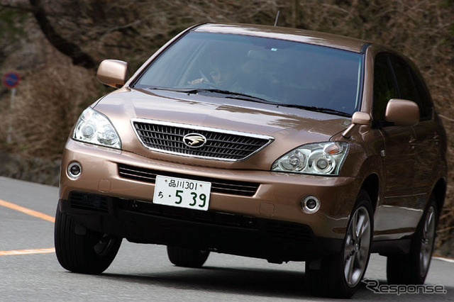 [' Impl; 05] revolutionary driving feeling pounding can run, 'kumakura heavy spring Toyota Harrier hybrid' 力まず