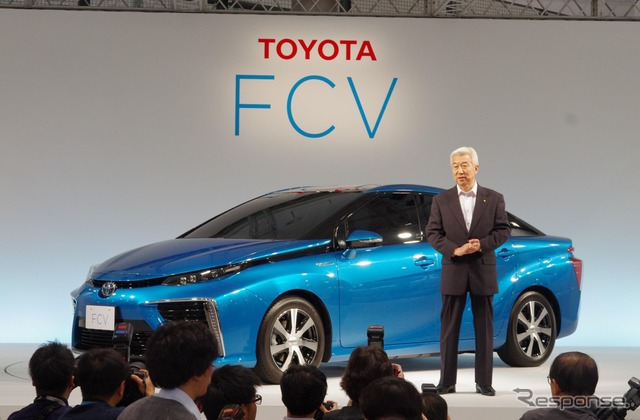 Toyota Motor Corporation Executive Vice President Mitsuhisa Kato (Toyota FCV Sedan Press Conference)