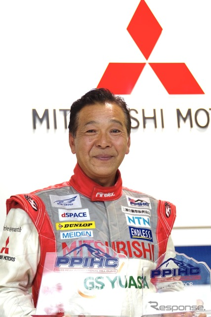 2014 Pikes Peak: Mitsubishi Hiroshi Masuoka triumphs for the desired first victory in EV class at the third year of participation