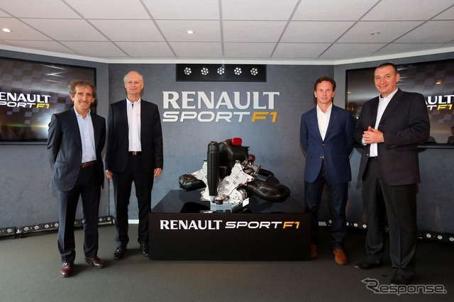 Renault's new F1 engine