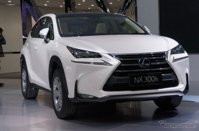 Lexus NX300h (2014 Beijing International Automotive Exhibition)