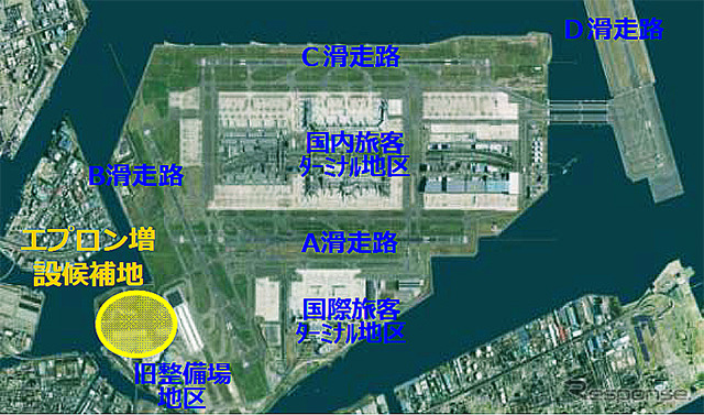 Haneda Airport new runway plan also before and after the Tokyo Olympics in expanding... Airport capability enhancement Subcommittee interim report