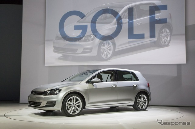 New Volkswagen Golf (New York motor show 13)