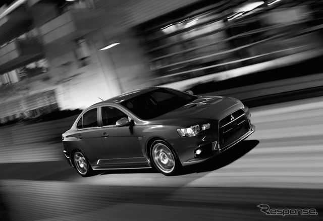 2015 Mitsubishi Lancer Evolution with U.S. specs