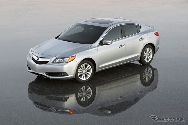 Acura's new compact sedan, the ILX