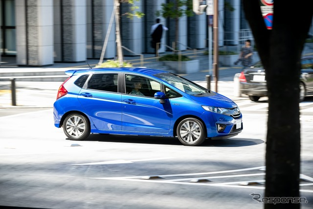 Honda fit hybrid S package