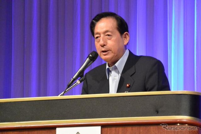 Transport Minister Akihiro OTA