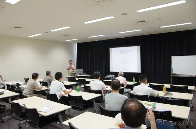 Japan EV Club held tateuchi edge representative, EV first school